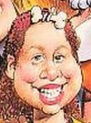 Drawn Picture of Chelsea Clinton