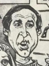 Drawn Picture of Chevy Chase