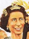 Drawn Picture of Queen Elizabeth II.