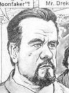Drawn Picture of Michael Lonsdale