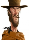 Drawn Picture of Clint Eastwood