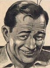 Drawn Picture of John Wayne
