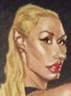 Drawn Picture of Iggy Azalea