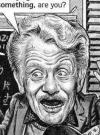 Drawn Picture of Jerry Stiller