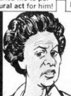 Drawn Picture of Marla Gibbs