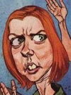 Drawn Picture of Alyson Hannigan