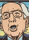 Drawn Picture of Bernie Sanders