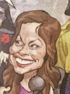 Drawn Picture of Brooke Burke-Charvet