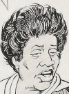 Drawn Picture of Isabel Sanford