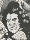 Drawn Picture of Gene Simmons