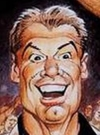 Drawn Picture of Vince McMahon
