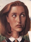 Drawn Picture of Gillian Anderson