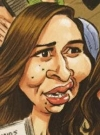 Drawn Picture of Maya Rudolph