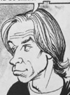 Drawn Picture of David Spade