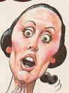 Drawn Picture of Shelley Duvall