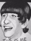 Drawn Picture of Ringo Starr