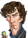 Drawn Picture of Benedict Cumberbatch