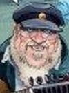 Drawn Picture of George R. R. Martin