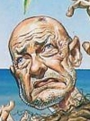 Drawn Picture of Terry O'Quinn