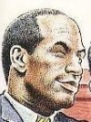 Drawn Picture of O.J. Simpson