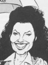 Drawn Picture of Fran Drescher