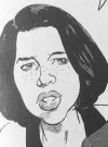 Drawn Picture of Neve Campbell
