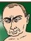 Drawn Picture of Vladimir Putin