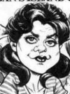 Drawn Picture of Dawn Wells