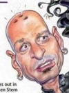 Drawn Picture of Howie Mandel
