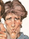Drawn Picture of Ted Danson