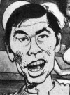 Drawn Picture of George Takei