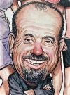 Drawn Picture of Billy Joel