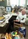 Image of Robert Fidgeon in his studio