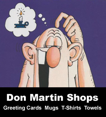 Permalink to the Don Martin Fanshops advertising page
