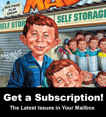 Subscribe to the USA MAD Magazine Today!