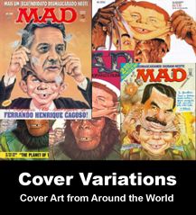Permalink to MAD Magazines Cover Variations!