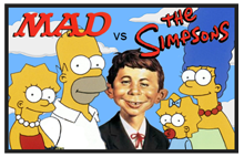 Permalink to MAD Magazine meets The Simpsons article