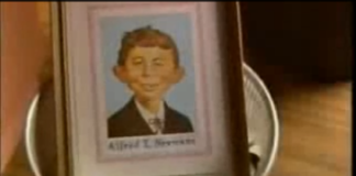 Alfred E. Neuman at the Ronny's Pop Show