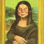 Mona Neumann (Backcover German MAD #51)