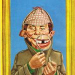 Sherlock Neumann (Backcover German MAD #58)