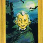 Dracula Neumann (Backcover German MAD #69)