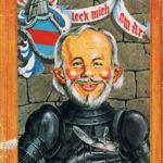 Alfred von Berlichingen (Backcover German MAD #79)