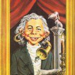 Alfred van Beethoven (Backcover German MAD #81)