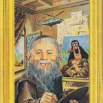 Alfred da Vinci (Backcover German MAD #112)