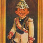 Alfred - Wilhelm II. (Backcover German MAD #140)