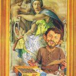 Michelangelo Neumann (Backcover German MAD #152)
