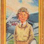 Alfred E.Lindbergh (Backcover German MAD #161)