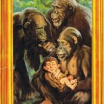Alfred E.Tarzan (Backcover German MAD #193)