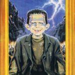 Alfred E.Frankenstein (Backcover German MAD #199)