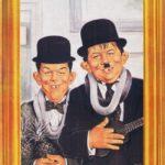 Neumann & Hardy (Backcover German MAD #205)
